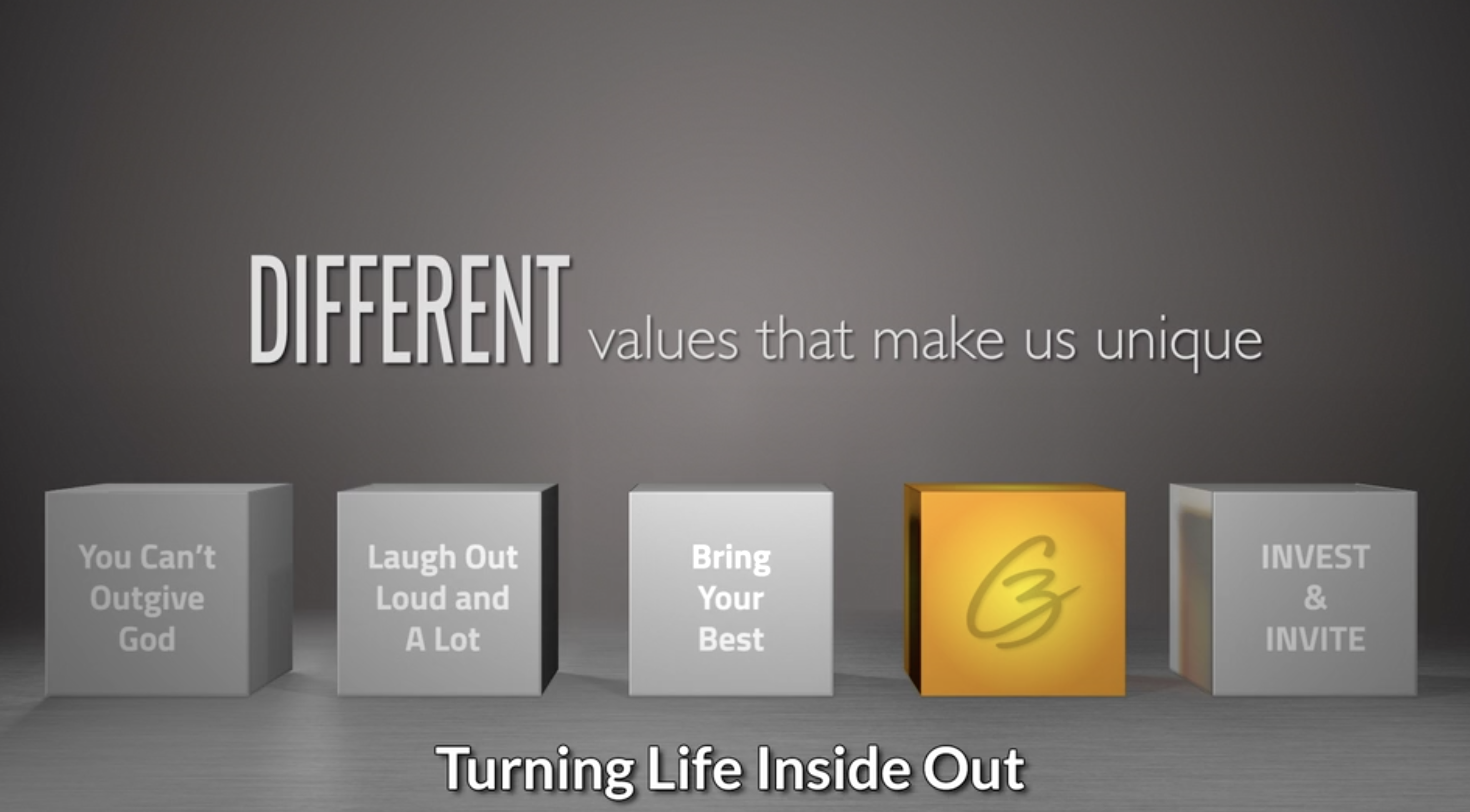 Watch C3 Sermon - October 25, 2020 - Turning Life Inside Out